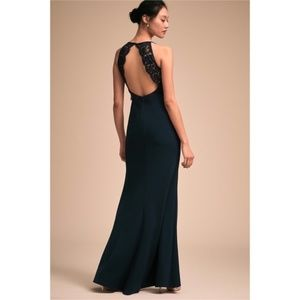 BHLDN Foundry Dress Navy